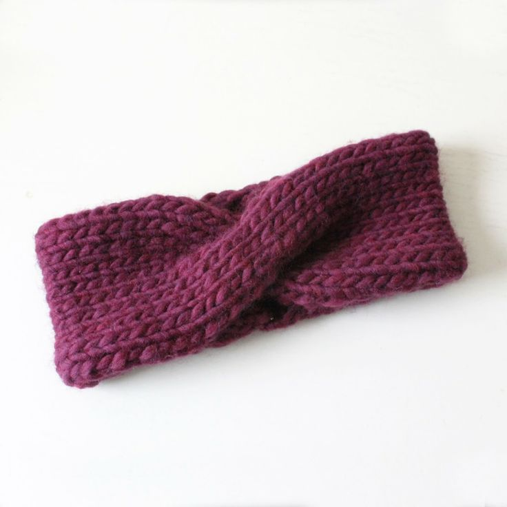 Turban Headband Knitting galore! Pinterest