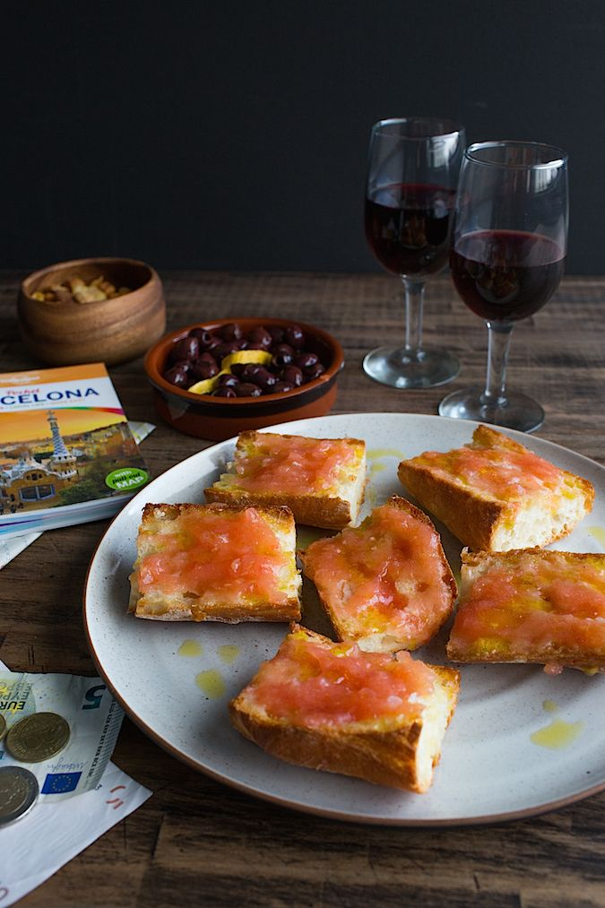 Pan Con Tomate (Spanish Tomato Bread) Recipe — Dishmaps