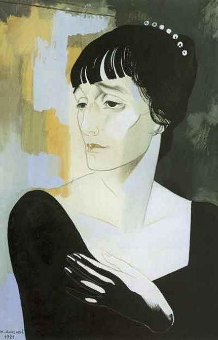 """http://renew23.livejournal.com/18910.html Два портрета написал Юрий Анненков на """"Кирочной 11"""" в июле 1921 года."""