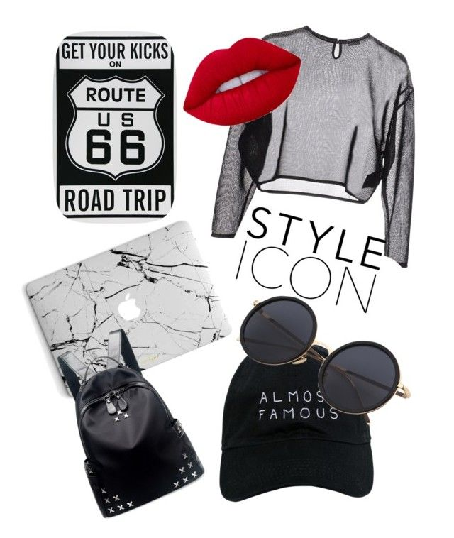 """""""Untitled #4"""" by tilda-hedblom on Polyvore featuring Yves Saint Laurent, Lime Crime, Nasaseasons and Chicnova Fashion"""
