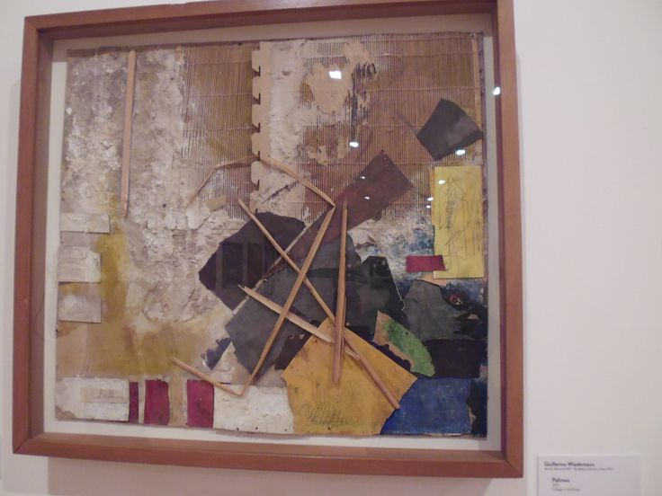 Guillermo Wiedemann. Munich ( alemania) PALIMEO. 1963. Collage, ensamblaje.