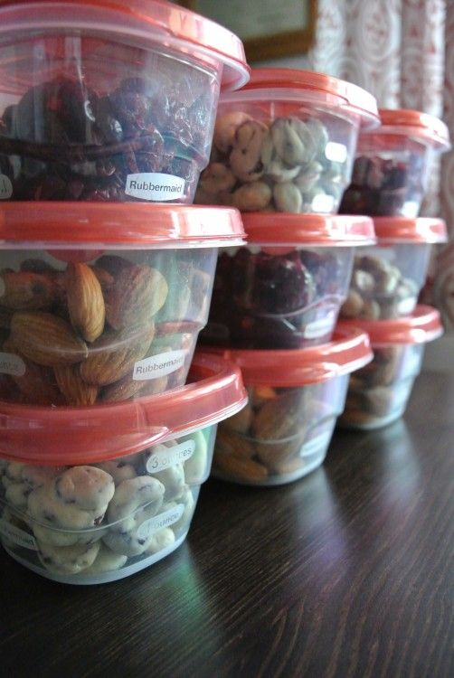 Organizing Healthy Adult Snacks- skip the junk and beat the middle of the day cravings by having a nutritious snack ready to go. All sorts of yummy and healthy suggestions from A Bowl Full of Lemons