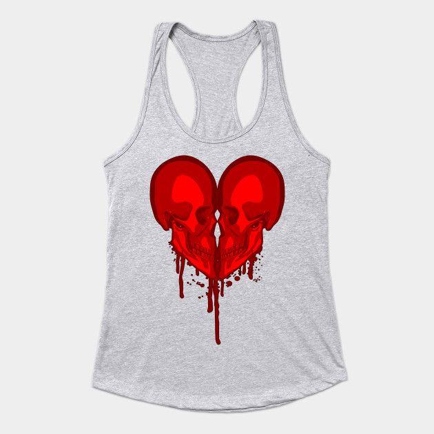 Eternal Valentine - Goth Heart - Tank Top | TeePublic