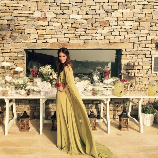 Vestido de boda greiga invitada perfecta