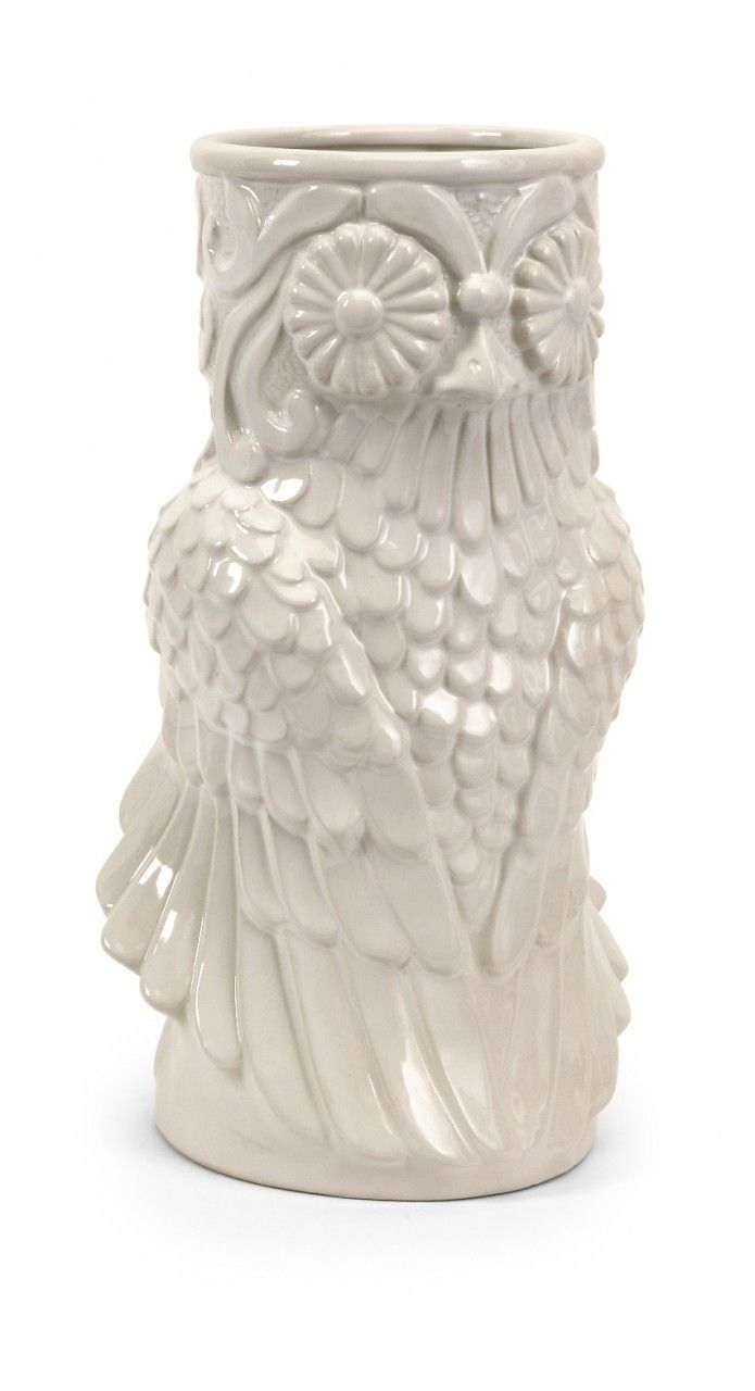 22 best owls images on pinterest owls owl and tawny owl home decor unique home decor white ceramic owl vase 7721 reviewsmspy