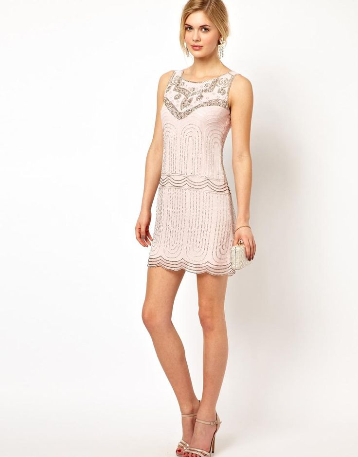 Frock and Frill | Frock and Frill Deco Sequin Shift Dress at ASOS