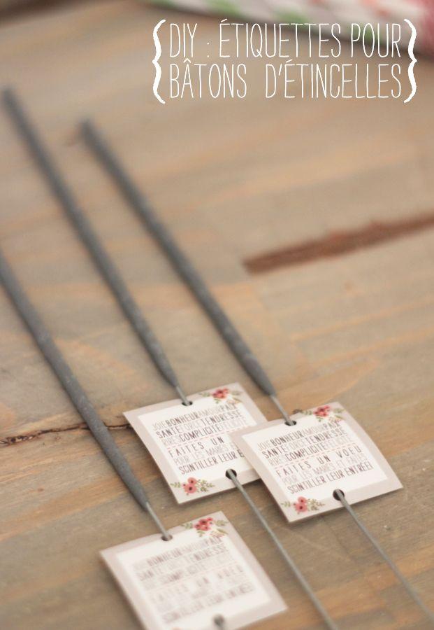 diy-etiquettes-batons-etincelles-la-mariee-aux-pieds-nus-blog-mariage / pour ouverture de bal