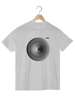 Camiseta de algodón orgánico en color blanco para chico GDBH  www.strambotica.es