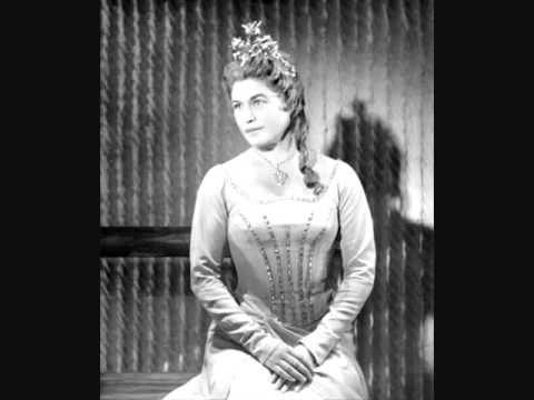 """Elisabeth Grümmer, """"Wie nahte mir der Schlummer"""", Weber:  Der Freischütz (rec. 1955)"""