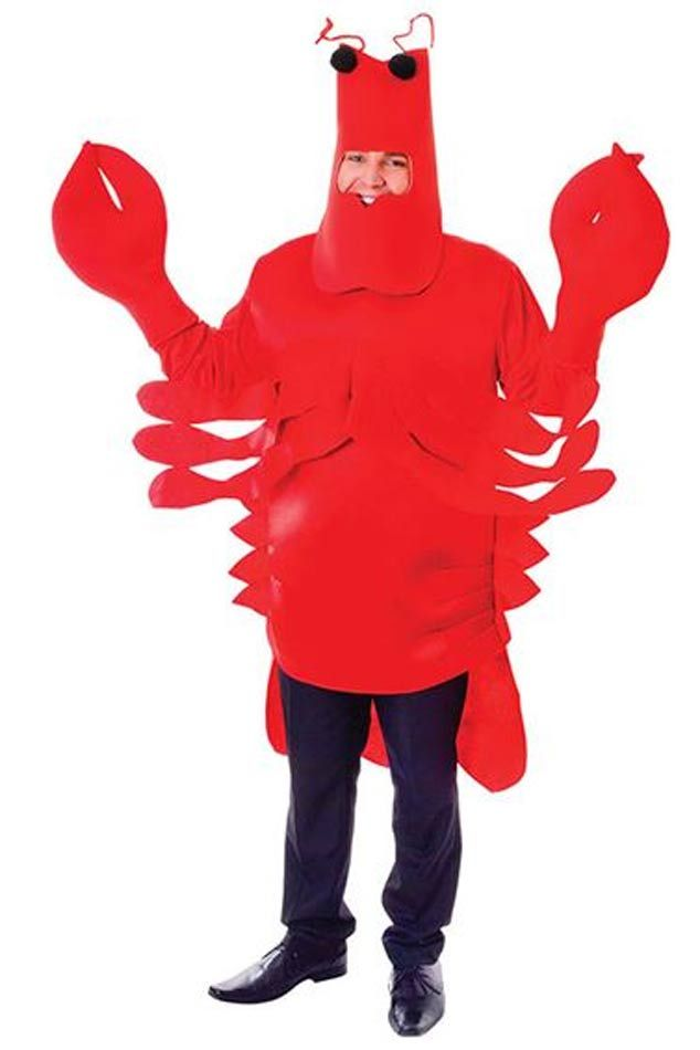 Adult Lobster Costume by Bristol Novelties AC926 | Karnival Costumes | UK
