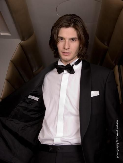 Yes you may take that tux off - I don't mind
