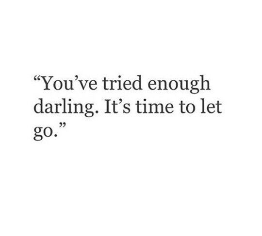 | I did my best. and now...to let go. |