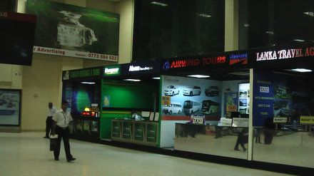Budget Taxi Counter  - Flughafen Colombo/Bandaranaike International Airport (CMB)