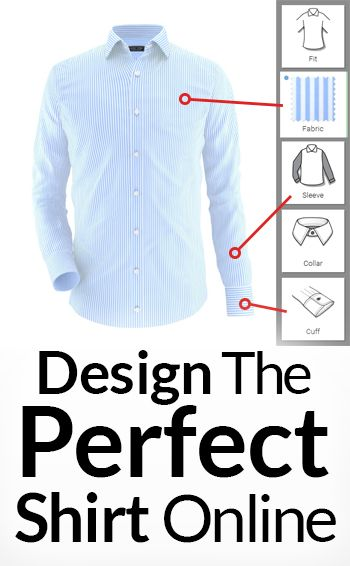 Design the Perfect Shirt Online? Here Are 3 Steps To Your Dream Shirt Purchase
