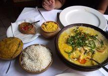 Moqueca. Brazilian fish stew