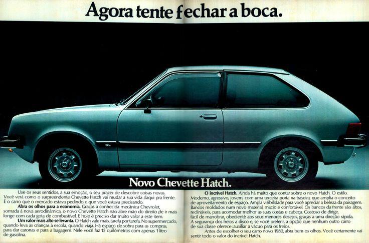 1980 Chevrolet Chevette Hatch - Brasil