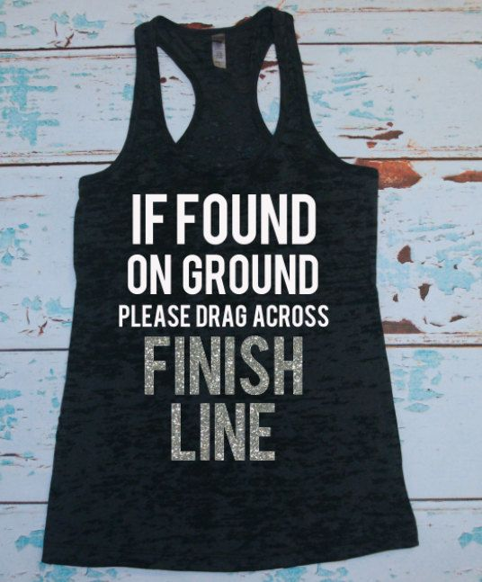 Women's running shirt. Marathon tank top. by strongconfidentYOU