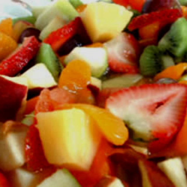 Fruitsalade Home made..