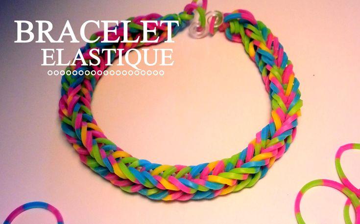 Comment faire un bracelet élastique sans machine