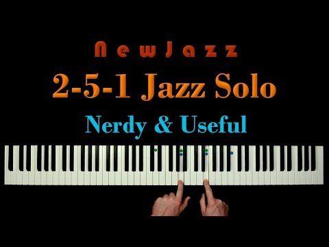 (4) 2-5-1 Jazz Improvisation - in a Single Hand Grip! - YouTube