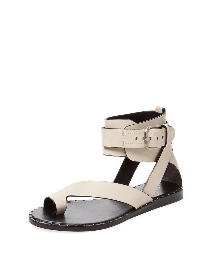 Mim Leather Toe Loop Sandal By Pour La Victoire At Gilt