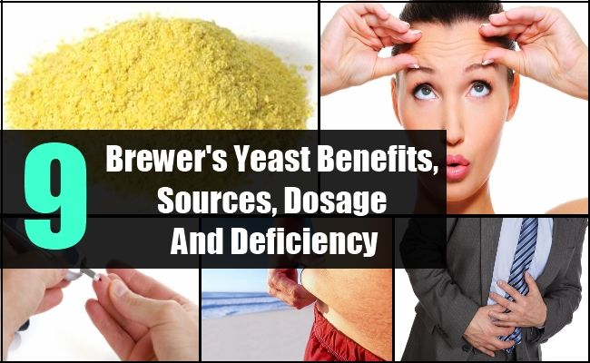 9 Brewer's Yeast Benefits, Sources, Dosage And Deficiency