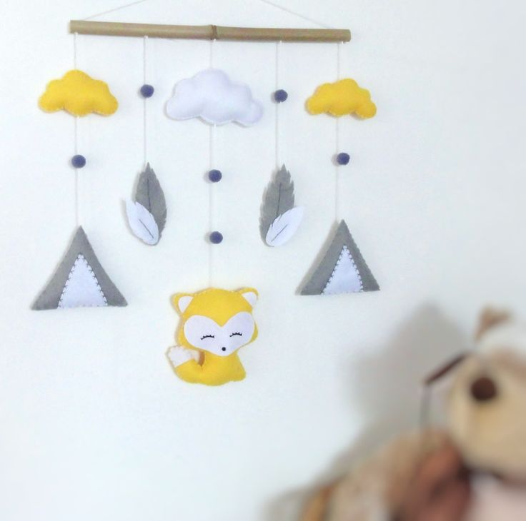 1000 id es propos de mobile nuages sur pinterest for Suspension chambre d enfant