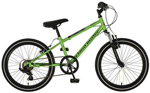 Claud Butler Torment 20`` Boys Bike - 6 Speed (2016) With its front suspension forks, this model allows any little cyclist to Torment the grown-ups as they whiz passed them off-road. 6 speed Shimano gears, robust steel fra (Barcode EAN = 5060348412830) http://www.comparestoreprices.co.uk/december-2016-3/claud-butler-torment-20-boys-bike--6-speed-2016-.asp