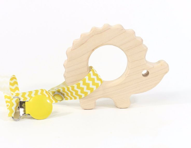 Hedgehog Wooden Teether | Bannor Toys