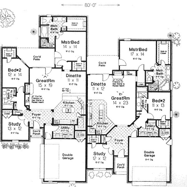 Best Duplex Plans Images On Pinterest Duplex Design Family - 6 bedroom country house plans