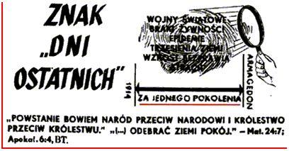 świadkowie jehowy rok 1975 - Google Search