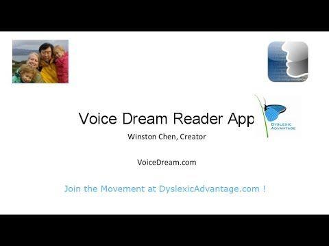 ▶ Dyslexic Advantage Webinar - Voice Dream Reader App Creator Winston Chen - YouTube