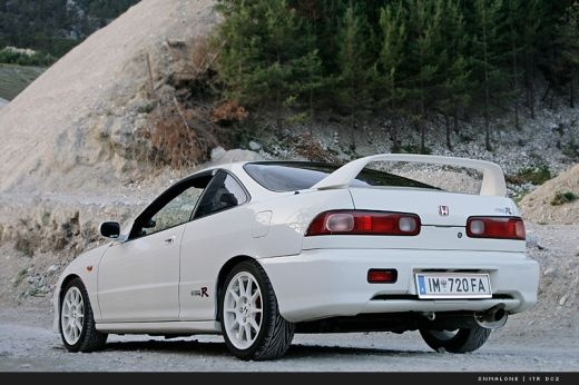 Acura Integra Type R -- lets ride.