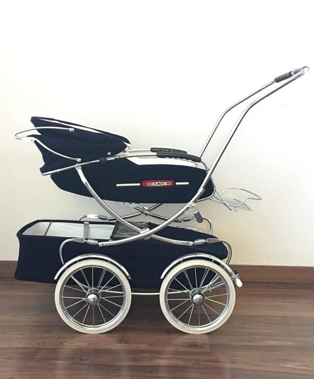 20th Century Fancy Convertible Baby Carriage, Baby Stroller 2