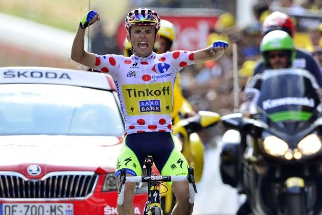 Rafal Majka continues Tour de France success with stage 17 victory - Two stage wins and polka-dot jersey for Pole Rafal Majka as Vincenzo Nibali puts more time into rivals!