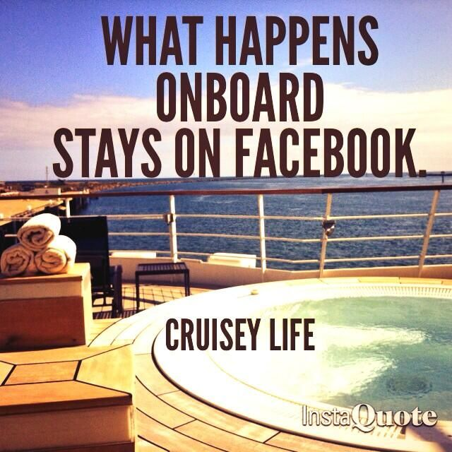What happens onboard stays on Facebook