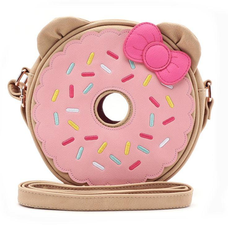 Loungefly x Hello Kitty Donut Crossbody Bag