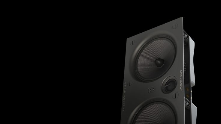 Palatial - Integrated in-wall speakers | Bang & Olufsen