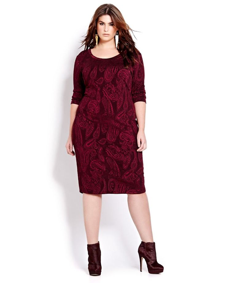 Paisley Dress   Addition Elle