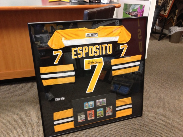 Hockey cards with Jersey #frame