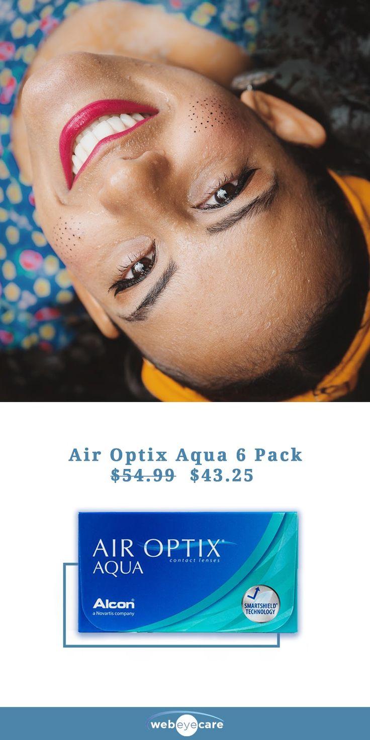 Air Optix Aqua 6 Pack Contact Lenses at a fraction of the