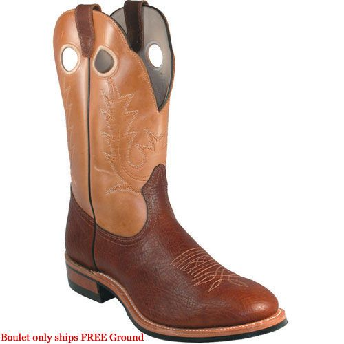 5117 Boulet Men's Super Western Ropers - Bison
