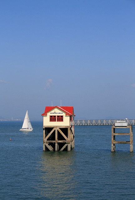 Sailing in Swansea Bay