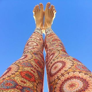 Flow is head over heels excited to be trading @wanderlustausnz Sunshine Coast this Thursday through to Sunday. We can't wait to see you all, bliss out & wander together! ॐ❦ॐ  #FindYourTrueNorth #Wanderlust2017  @_barefootwanderer wears our SohoinMarrakesh leggings. Thankyou for the photo share beauty xxoo