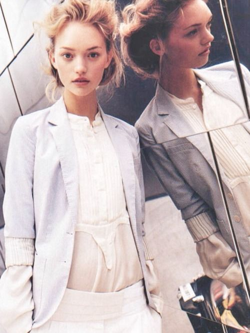 """""""Hot Town"""", Gemma Ward by Mario Testino for Vogue US"""