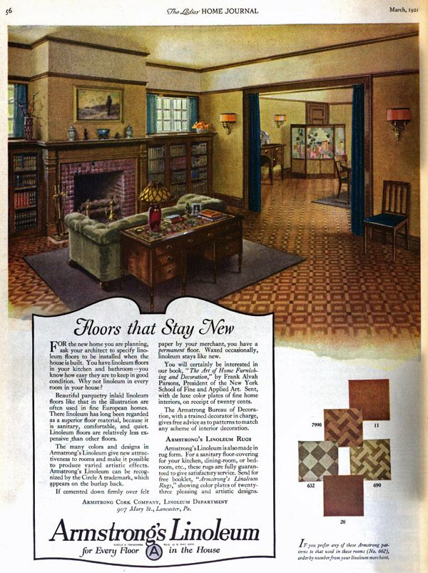 Images Of The Ideal American Home (1922