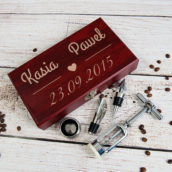 Nasza+Data+-+personalizowany+zestaw+do+wina+w+MyGiftDna+na+DaWanda.com