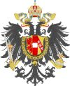 Imperial Coat of Arms of the Hapsburg Empire of Austria (1815)