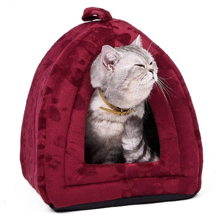Cono del envío gratis Pet Bed Cat Dog Kennel Super lindo precioso para cachorro gatito Soft Cozy en verano / primavera 5 tamaños alta calidad
