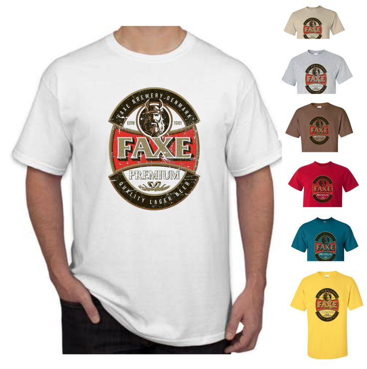 Faxe Beer T-Shirt Unisex Tee Shirt Comfort Men Women More Colors & sizes New #Gildan #TShirt